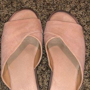 Franco Sarto Shoes - Franco Sarto Pink Sandals